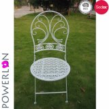 Nuevo diseño plegable la silla negra del patio para los muebles al aire libre