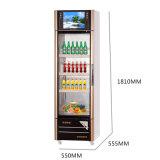Umweltfreundliche Öffnungs-Tür-Multimedia widersprechen Tiefen-Kühlraum