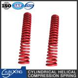 Molla di compressione elicoidale della bobina del cilindro