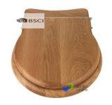 Крышка туалета покрытия S/S PVC Veneer европейского стандарта деревянным отлитая в форму шарниром деревянная