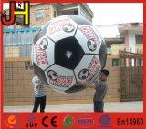 Aerostato rotondo di gioco del calcio dell'elio gonfiabile durevole del PVC per gli sport