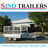 ATV Galvanized Heavy Duty Box Trailers