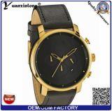 Yxl-378 Van de Bedrijfs luxe van het Polshorloge van het Kwarts van de Datum van de Chronograaf van Mvmt van het Horloge van Mens van het Leer van de manier Echt Mechanisch Horloge