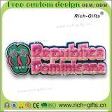 Souvenir à la maison personnalisé Dominica d'aimants de réfrigérateur de PVC de cadeaux de décoration (RC- FONT)