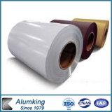 Farbe beschichtete Aluminiumzink-Stahlring PPGL für Behälter-Platte