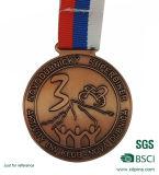 3Dカスタム金属のスポーツの円形浮彫りメダル