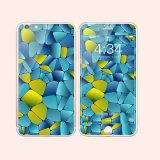 高品質の多彩な緩和されたガラス在庫のiPhone6/6sのプラスのための両側スクリーンの保護装置
