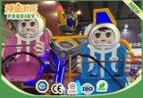 遊園地のロボットは屋内小型観覧車の運動場の子供の乗車を形づけた