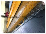 低炭素鋼鉄が付いているPVCによって塗られる金網の網か網