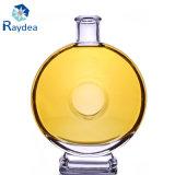bottiglia di vetro 125ml con il compressore di prova
