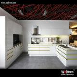 Conception de cuisine blanche contemporaine Welbom 2017