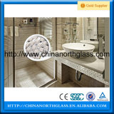 8mm, 10mm, Acid Etched Tempered Glass Showerdoor