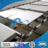 A placa de fibra mineral acústica (Armstrong) /PVC laminou a telha do teto da gipsita