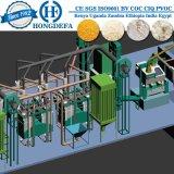 Planta completa da máquina do moinho de farinha do milho de Sudão
