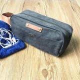 Custom High Qaulity Canvas Men Shaving Bag for Travel Wholesale