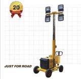 Générateur de puissance diesel portable 4 * 400W 36000lm Tour de lumière mobile