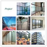 Verre trempé à plusieurs dimensions / verre isolé pour fenêtre de bâtiment
