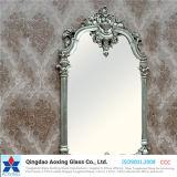 Flacher Silber-/Aluminiumspiegel für Wand-Spiegel