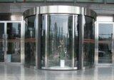 Portas giratórias - construção do aço inoxidável