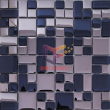 Mosaico cristalino del azulejo de cristal decorativo de la pared (TC401)