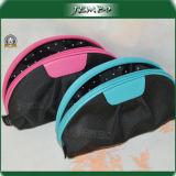 Дешевый прозрачный мешок косметики руки застежки -молнии PVC кожаный