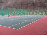 Nicecourt blockierenpolypropylen-Innentennis-Bodenbelag W08 (Tennis-Goldsilber-Bronze)
