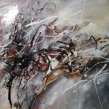 Pintura al óleo abstracta (51)