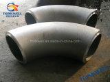 熱押されたカーボン\ステンレス鋼の溶接管の肘