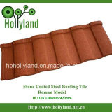 Azulejo de material para techos de acero revestido de piedra