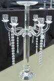 Suporte de vela de cristal com sete posteres