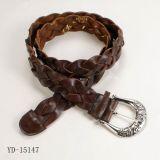 Ceinture en cuir de Genuin, la ceinture des hommes (YD-15147)