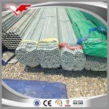 Tubo de acero cuadrado galvanizado, lado derecho del soldado enrollado en el ejército, hecho en China