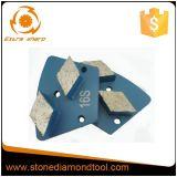 Raute-konkreter Paralleltrapez-Diamant-reibendes Segment