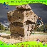 Kind-erwachsene Befestigung zur Gebäude-Felsen-Kletternwand