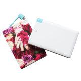 Forme portative mobile 7mm de carte de pouvoir du côté 2500mAh de pouvoir