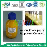 Pâte jaune de couleur d'unité centrale pour la mousse flexible