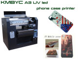 Impresora plana de la impresora de la caja del teléfono móvil de la eficacia alta del bajo costo
