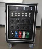 Rectángulo de interruptor eléctrico de la fuente de alimentación de 3 fases