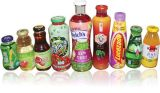 Máquina de etiquetado automática de las botellas de la bebida