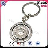 로고를 가진 주문을 받아서 만들어진 디자인 금속 Keychain