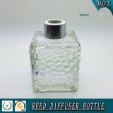 bottiglia a lamella di vetro di Duffuser del cubo dell'acqua 200ml con la protezione d'argento opaca