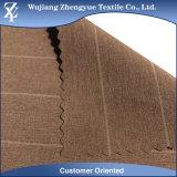 Melange Polyester Spandex Stripe 4 Way Stretch Tecido para roupas