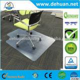 못 없는 PVC 장방형 사무실 의자 지면 매트