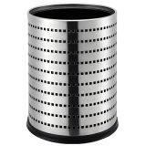 Form-Entwurfs-runde Form-Edelstahl-Abfall-Luxuxsortierfach