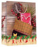 Рождество оптовых продаж способа конструкции праздника изготовленный на заказ дешевое сделанное бумажный мешок
