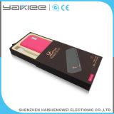 Personalice el banco de energía universal móvil del cuero para el iPhone