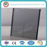 vidrio teñido gris claro/gris de 4mm-10m m de flotador