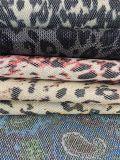 Couro sintético artificial do Glitter quente do projeto para sapatas, sacos, decoração, vestuários (HS-Y65)