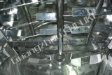 200L, 500L acero inoxidable de vapor de calentamiento del tanque de mezcla
