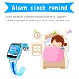 Reloj elegante para la tarjeta de la llamada SMS SIM del perseguidor del localizador del GPS WiFi de los niños impermeable